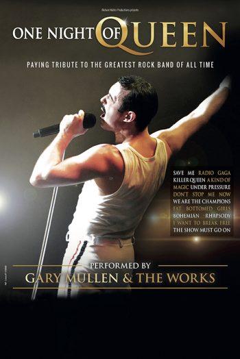 One Night Of Queen concert affiche sceneo